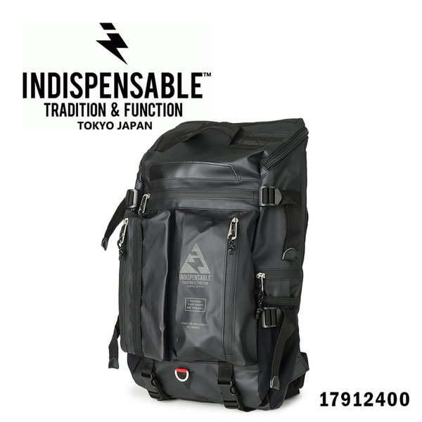 インディスペンサブル INDISPENSABLE リュック 17912400 BUSTLE Type2  リュックサック デイバッグ バックパック リュック コーティング加工 メンズ