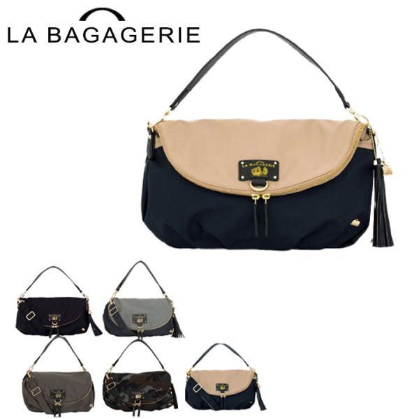 ラバガジェリー LA BAGAGERIE ハンドバッグ B61-01-03  ウォータープルーフナイロン レディース ショルダーバッグ リュックサック 3WAY|sacsbar