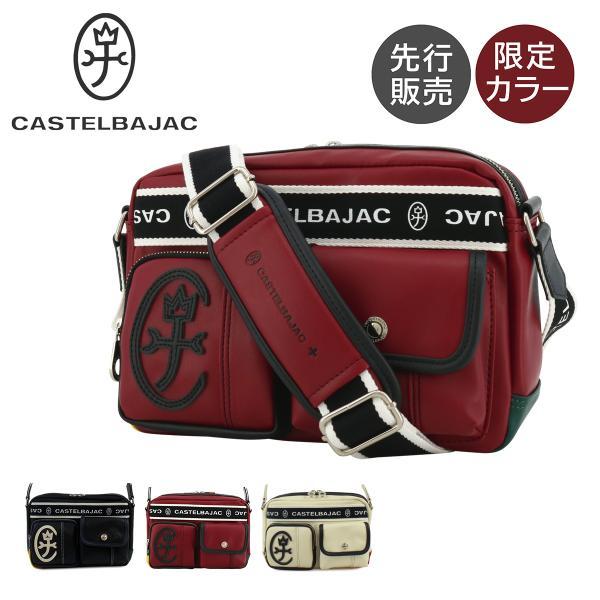 カステルバジャックCASTELBAJACショルダーバッグ024111ドミネバジャック鞄メンズ PO10