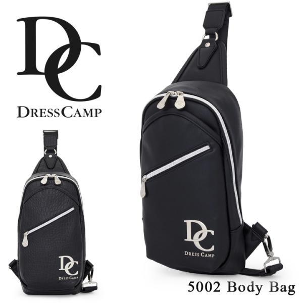 ドレスキャンプ DC DRESSCAMP ボディバッグ DC-5002 プレーン  ワンショルダー メンズ