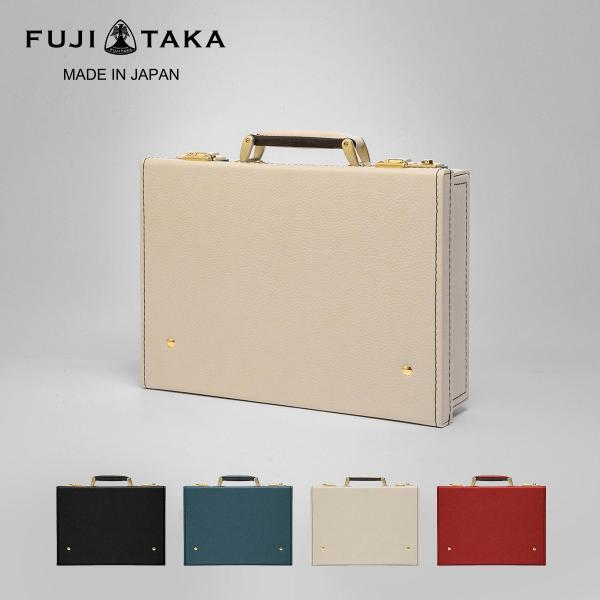 フジタカ トランク B5 ミニ 本革 メンズ レディース 656502 日本製 FUJITAKA|トランクケース ミニトランク ビジネスバッグ セカンドバッグ