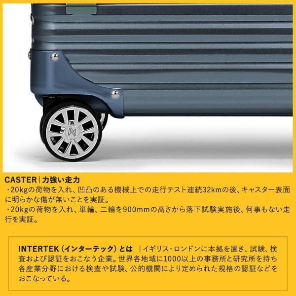 ランツォ スーツケース ノーマン 29インチ|87L 70cm 7kg|アルミニウム合金 5年保証|アルミ ハード フレーム TSAロック搭載|sacsbar|16
