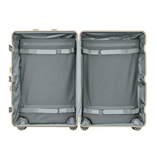 ランツォ スーツケース ノーマン 29インチ|87L 70cm 7kg|アルミニウム合金 5年保証|アルミ ハード フレーム TSAロック搭載|sacsbar|04