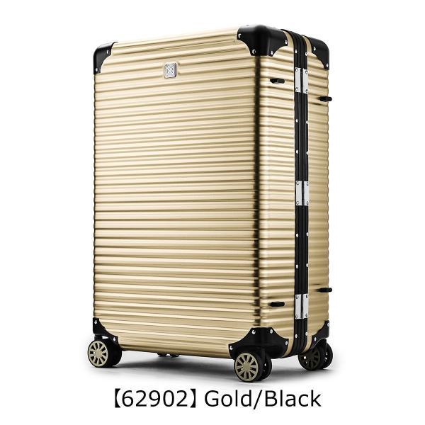 ランツォ スーツケース ノーマン 29インチ|87L 70cm 7kg|アルミニウム合金 5年保証|アルミ ハード フレーム TSAロック搭載|sacsbar|07