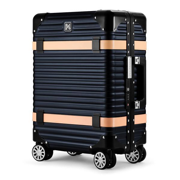 ランツォ スーツケース 機内持ち込み 33L 46cm 5kg 19インチ LCC対応 アルミニウム合金 ハード フレーム LANZZO VIKING [PO10]