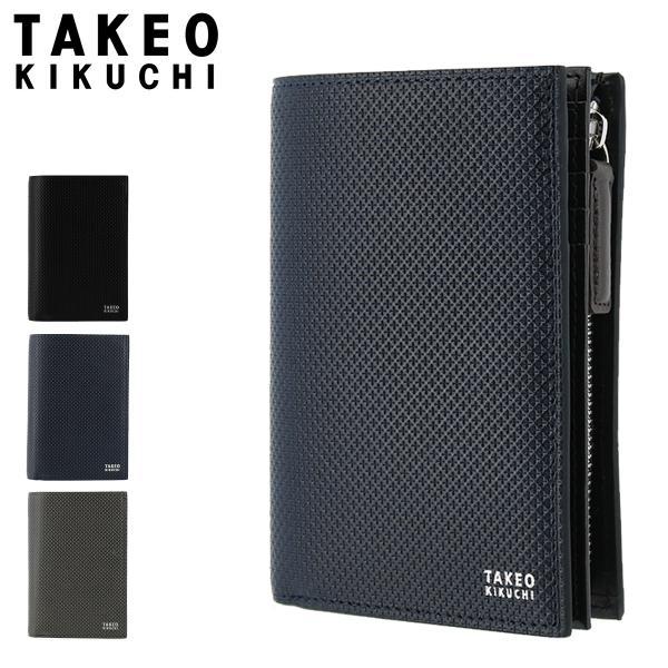 タケオキクチ二つ折り財布L字ファスナーバースメンズ706625TAKEOKIKUCHI|本革レザー PO5