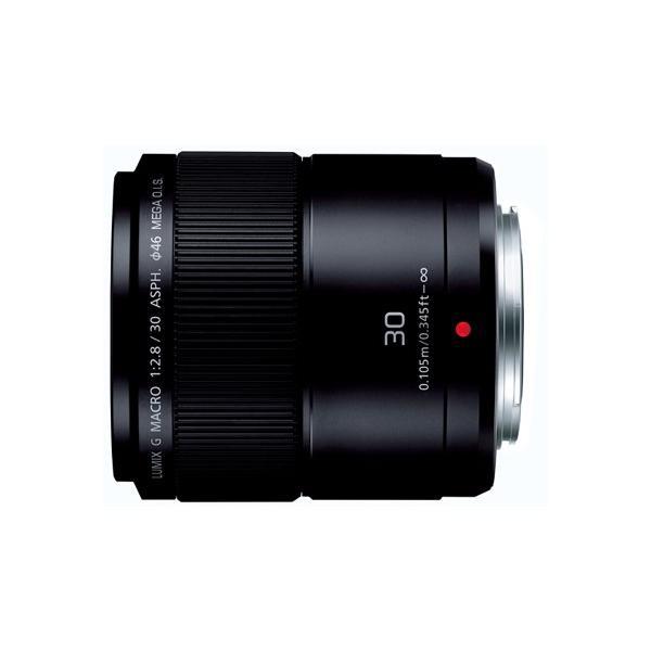 パナソニック(Panasonic)  H-HS030 LUMIX G MACRO 30mm/F2.8 ASPH./MEGA O.I.S. マイクロフォーサーズ ブラック