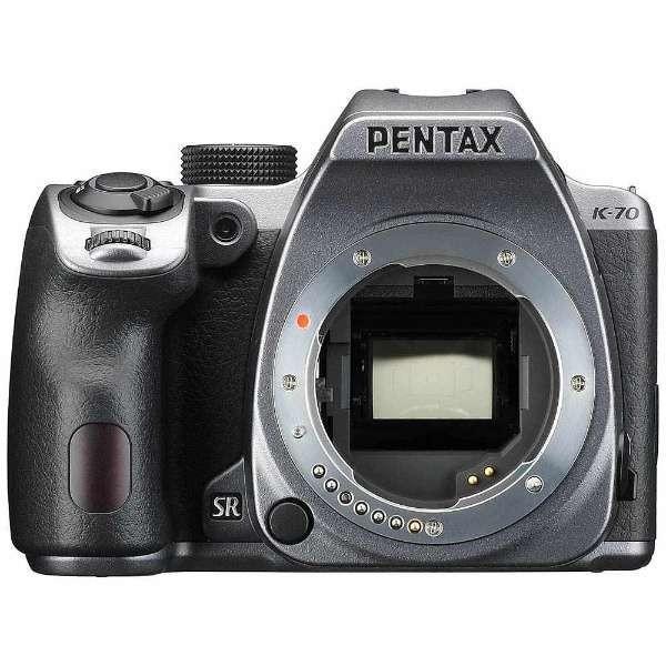 ペンタックス(PENTAX) K-70 ボディ シルキーシルバー