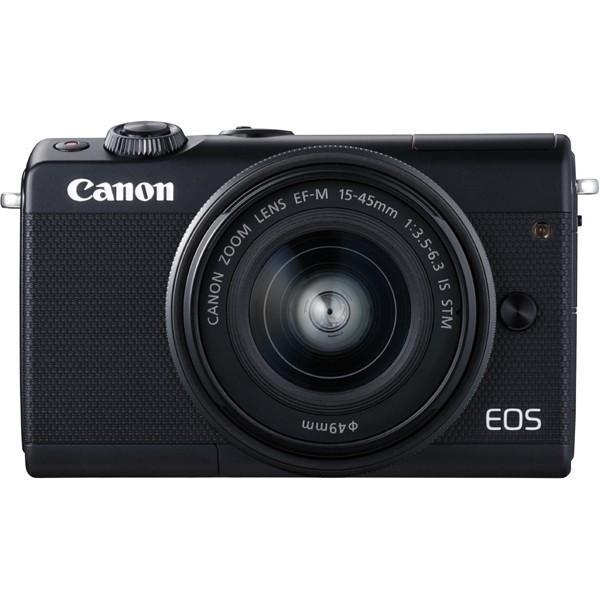 キヤノン(Canon) ミラーレス一眼 EOS M100 EF-M15-45 IS STMレンズキット ブラック