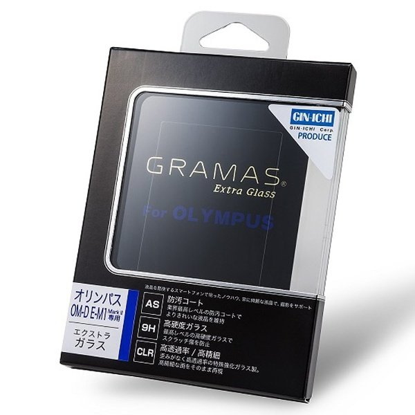 GRAMAS(グラマス) 液晶保護ガラス Extra Glass DCG-OP01 オリンパス OM-D E-M1 MarkII & E-M1X用
