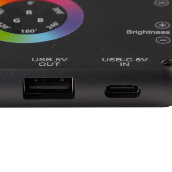 Phottix(フォティックス) 一眼ビデオ撮影スマホ用ポータブルLEDライト M200R RGB LIGHT|saedaonline|07