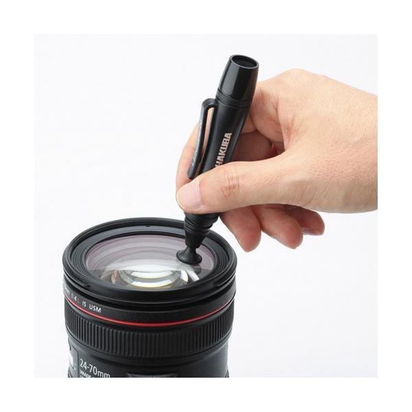 ハクバ レンズクリーナー レンズペン3 ブラック