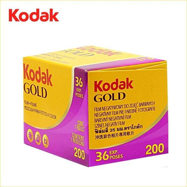 【ネコポス便配送商品】コダック(Kodak) GOLD 200 135 36枚撮り / カラーネガフィルム