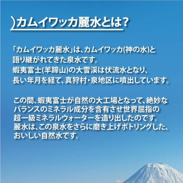 保存水 10年カムイワッカ麗水500ml×24本セット ミネラルウォーター|safety-japan|03