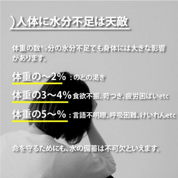 保存水 10年カムイワッカ麗水500ml×24本セット ミネラルウォーター|safety-japan|05