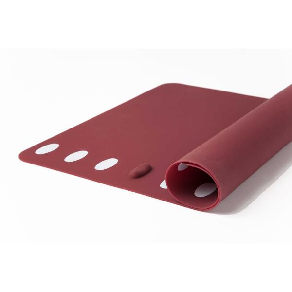 箸置きランチョンマット 2枚セット シリコン製で、お手入れラクラク。食洗機で洗え畳んでもシワになりません。|safety-toilet|07