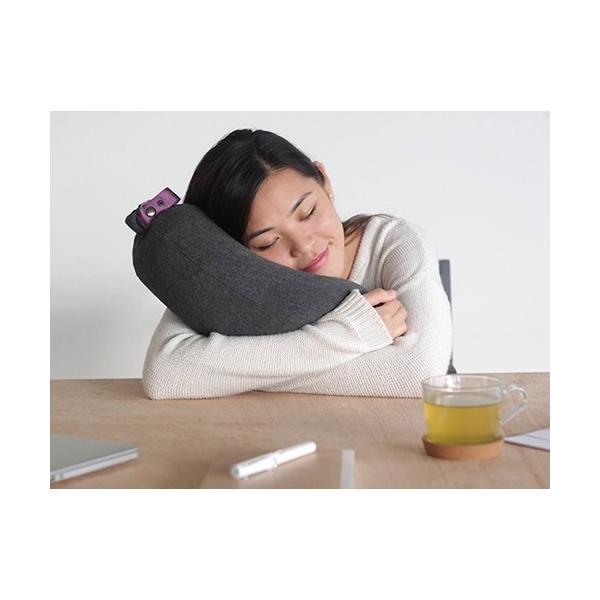 トラベルピロー Aubergine Pillow オーべージントラベルピロー ひと息で膨らむ ナス形|safety-toilet|03