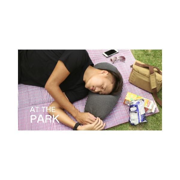 トラベルピロー Aubergine Pillow オーべージントラベルピロー ひと息で膨らむ ナス形|safety-toilet|10