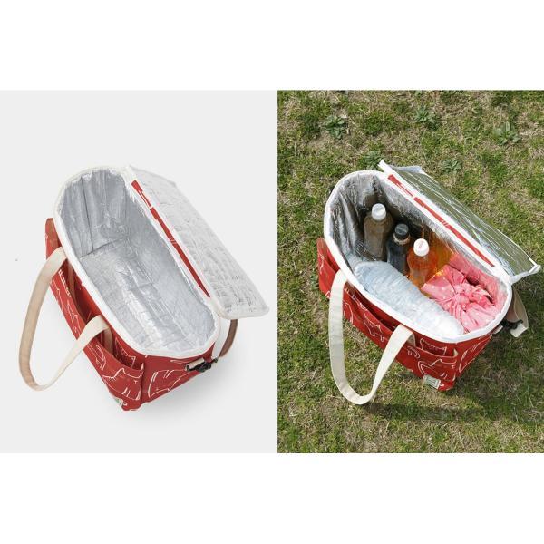 クーラーバッグ パタットミニ収納 保温保冷どちらにも使える! アウトドアやピクニックに|safety-toilet|12