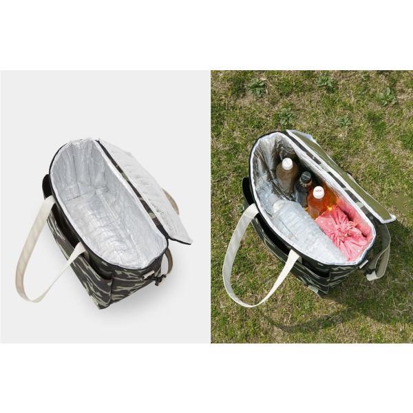 クーラーバッグ パタットミニ収納 保温保冷どちらにも使える! アウトドアやピクニックに|safety-toilet|13