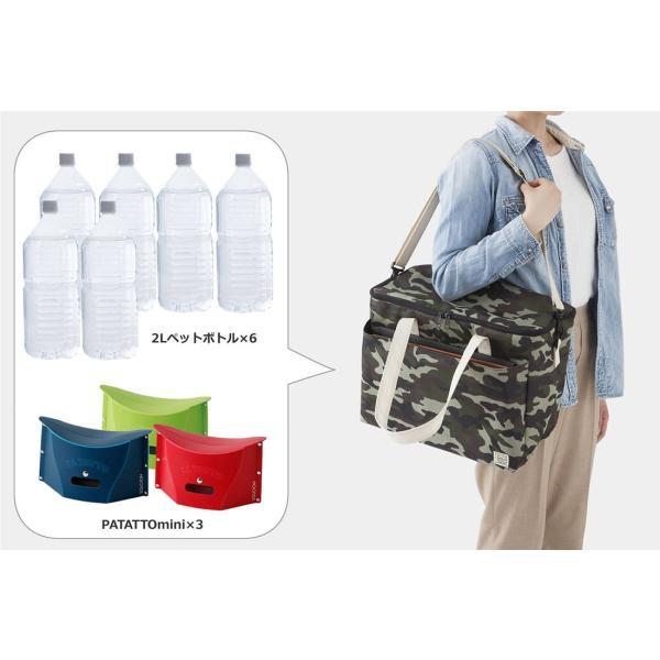 クーラーバッグ パタットミニ収納 保温保冷どちらにも使える! アウトドアやピクニックに|safety-toilet|07