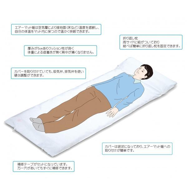 エアーマット暖 コンパクト すべての人に快適な寝心地を safety-toilet 02
