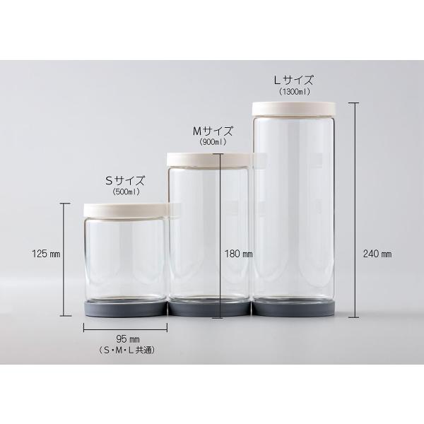 ソルシオン 補充改革 3種セット 送料無料 上下が開く ひっくり返して新しいものが下に キャニスター 耐熱ガラス|safety-toilet|06