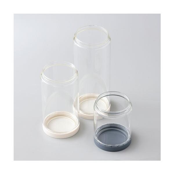 ソルシオン 補充改革 3種セット 送料無料 上下が開く ひっくり返して新しいものが下に キャニスター 耐熱ガラス|safety-toilet|07
