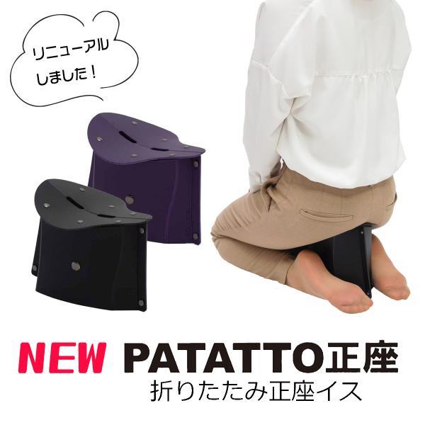 パタット正座 パタットセイザ PATATTO 正座 折りたたみ椅子 お花 書道 彼岸 母の日 父の日|safety-toilet
