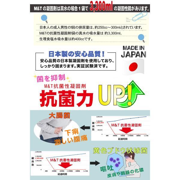 簡易トイレ 非常用トイレ 携帯用 5回セット 10年保存 抗菌 消臭 持ち運び袋付き 介護 備蓄 断水 日本製 防水パック 防災グッズ|safety-toilet|07