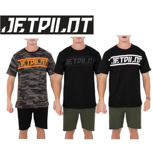 ジェットパイロット JETPILOT 2020-21 Tシャツ メンズ マリン 送料無料 テープド アップ Tシャツ TAPED UP TEE S20663