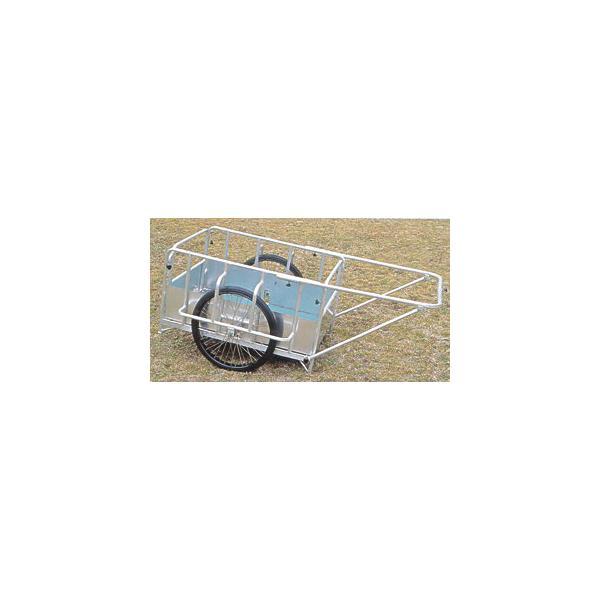 アルミ製折りたたみ式リヤカー(防災 避難生活 災害用品 災害援助 救出 搬送)