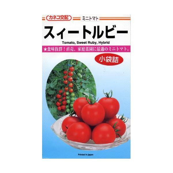 ミニトマトの種 スィートルビー 20粒 ( 野菜の種 )
