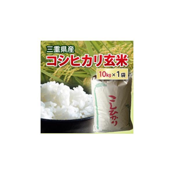 令和2年産 送料無料 コシヒカリ 玄米 10kg(小袋 小分け) 2等米  三重県産  お米 コメ 10キロ