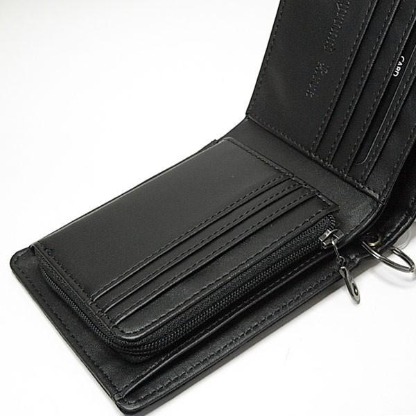 7abd14bb5fab ... 財布 二つ折り メンズ サイフさいふ チェーン付 迷彩柄 学生 男性用 メンズ財布| ...