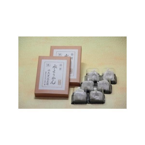 【送料無料】 秋の味覚 柔らかい栗水ようかん2枚と栗きんとん6個|saikatou