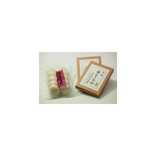 水ようかん 小2枚 福井米100% お正月のまるもち 10個入り1袋|saikatou