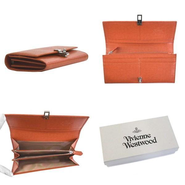 ヴィヴィアンウエストウッド 財布 Vivienne westwood 長財布 SOFIA LONG CARD HOLDER オレンジ 51120005