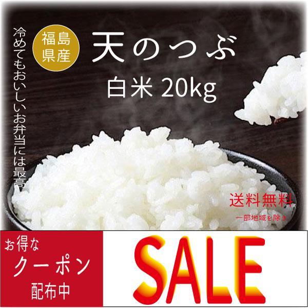 米 お米  天のつぶ白米20kg (5kgx4袋) 29年福島県産 |saito-rice-3529