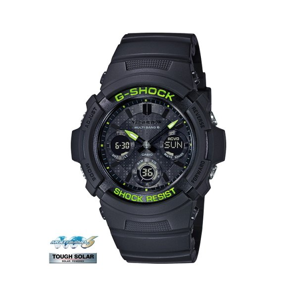 G-SHOCK Black and Yellow Series AWG-M100SDC-1AJF|saitoutokeiten