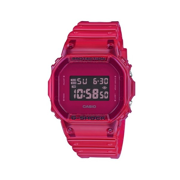 G-SHOCK Color Skelton Series レッド DW-5600SB-4JF|saitoutokeiten