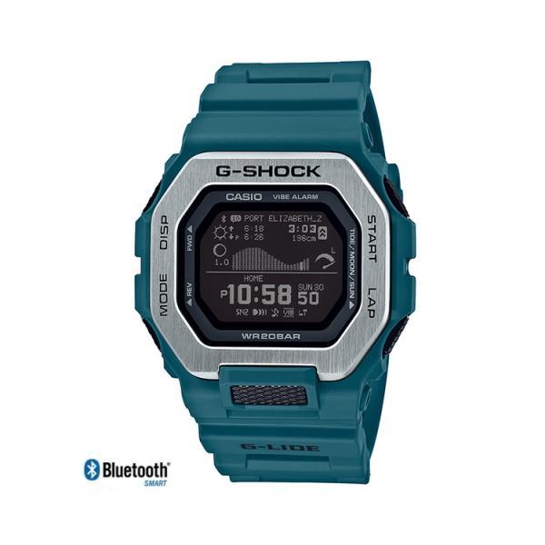 G-SHOCK G-LIDE ブルー GBX-100-2JF|saitoutokeiten