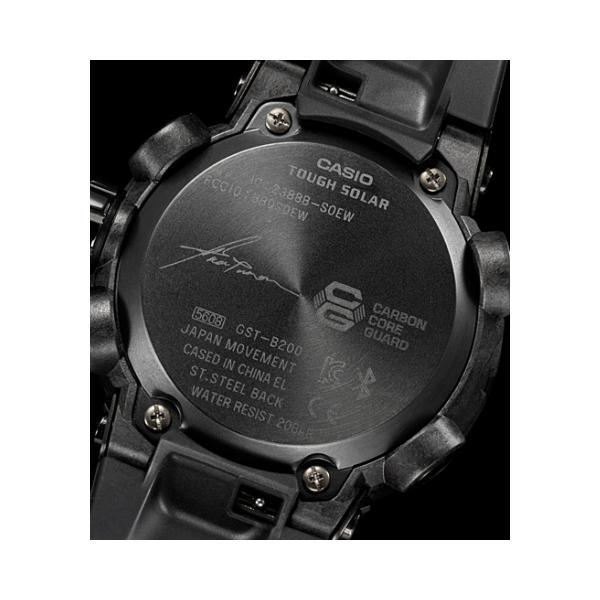 "G-SHOCK G-STEEL  ""Formless太極""モデル  GST-B200TJ-1AJR|saitoutokeiten|03"