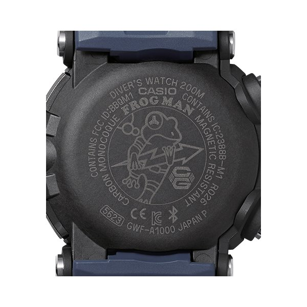 MASTER OF G FROGMAN フルアナログ ブラック×レッド GWF-A1000-1A4JF|saitoutokeiten|02