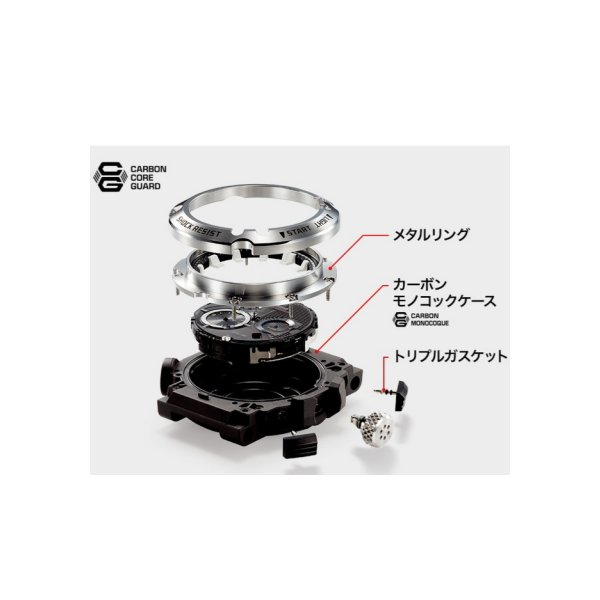 MASTER OF G FROGMAN フルアナログ ブラック×レッド GWF-A1000-1A4JF|saitoutokeiten|03