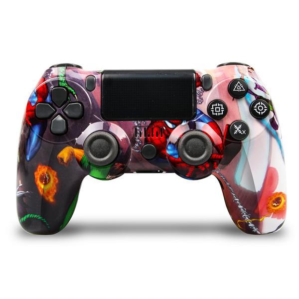 PS4 ワイヤレス コントローラー プレステ 4  Playstation 4 互換品 PS4 Pro 対応 無線 加速度 振動 重力感応 6軸機能 高耐久ボタン PC接続可能|saixia9|06