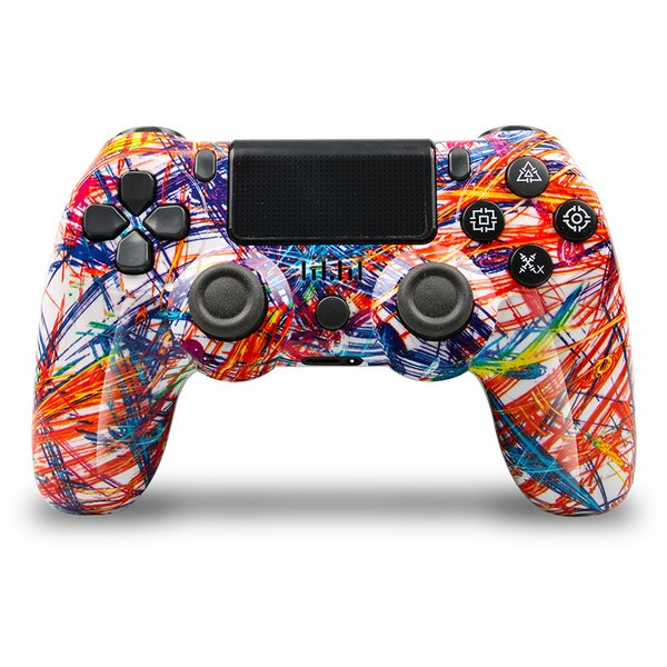 PS4 ワイヤレス コントローラー プレステ 4  Playstation 4 互換品 PS4 Pro 対応 無線 加速度 振動 重力感応 6軸機能 高耐久ボタン PC接続可能|saixia9|08