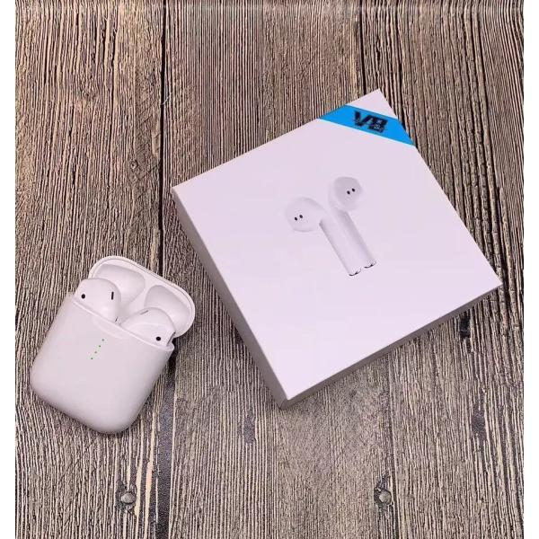 ブルートゥースイヤホン ワイヤレス AirPodsタイプ Bluetooth 5.0 iPhone Android対応 高音質 片耳 両耳通話 Hi Siri 対応 タッチ操作 超高音質|saixia9|14