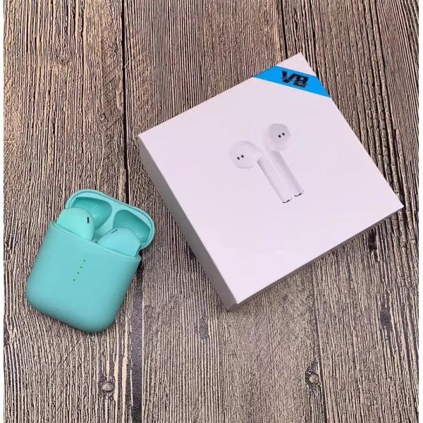 ブルートゥースイヤホン ワイヤレス AirPodsタイプ Bluetooth 5.0 iPhone Android対応 高音質 片耳 両耳通話 Hi Siri 対応 タッチ操作 超高音質|saixia9|22
