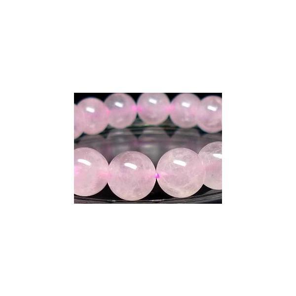 ローズクォーツ ブレスレット 10mm パワーストーン ブレスレット レディース 天然石 数珠